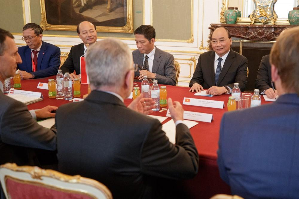 The Vietnamese Prime Minister at the Federal President's Office<small>© Österreichische Präsidentschaftskanzlei / Peter Lechner/HBF</small>