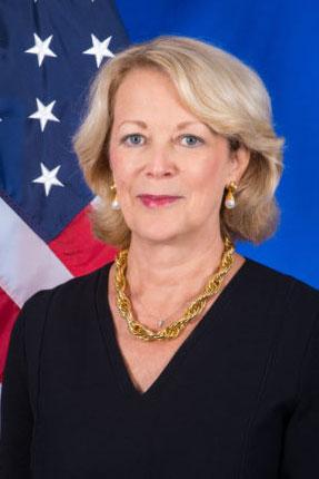 Jackie Wolcott, US Ambassador to UN, IAEA, CTBTO<small>© U.S. Mission to the International Organizations in Vienna</small>