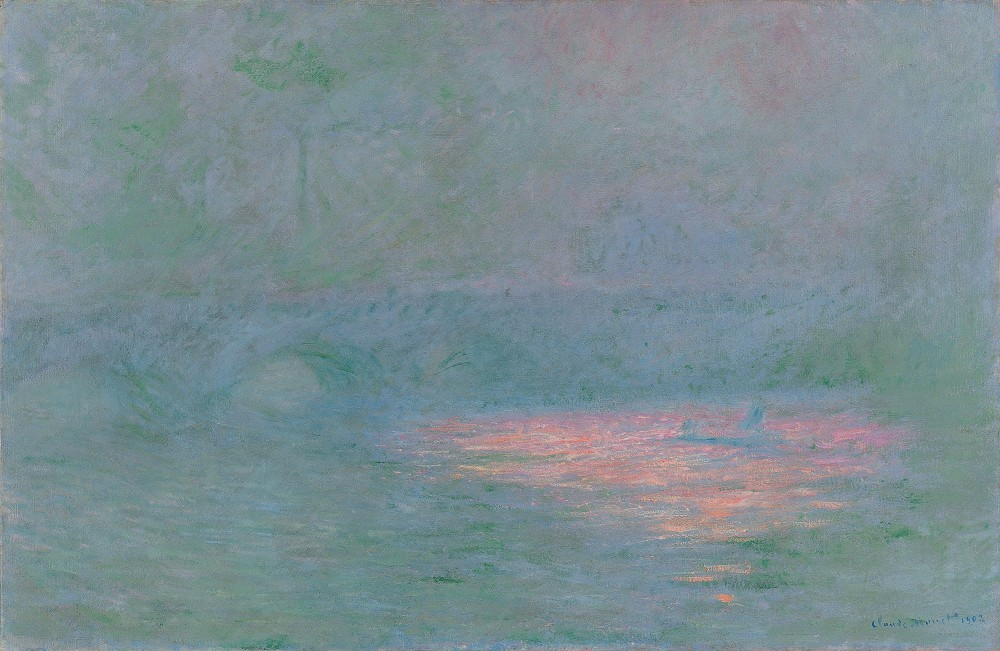 Claude Monet - Waterloo Bridge, 1902<small>© MAK / Kunsthaus Zürich, Geschenk Walter Haefner, 1995</small>