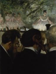 Edgar Degas - Orchestermusiker, 1872<small>&copy Städel Museum/U. Edelmann/ARTHOTHEK</small>