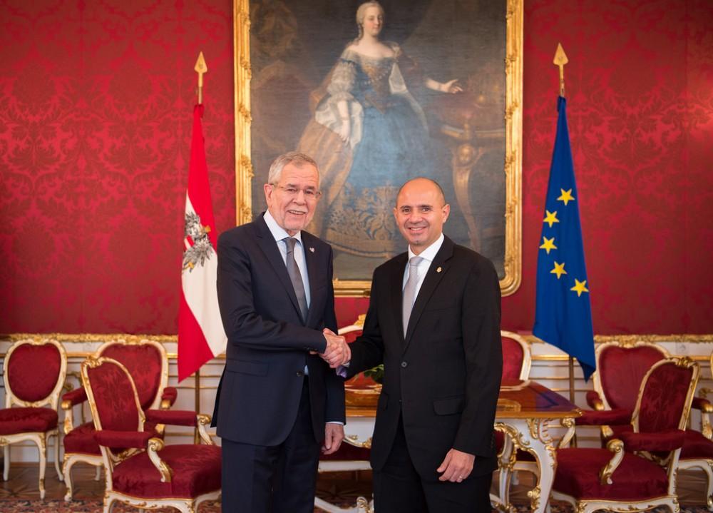 Ambassador of Costa Rica to Austria, H.E. Alejandro Solano Ortiz<small>© www.bundespraesident.at / /Karlovits, Bauer und Heinschink / HBF</small>