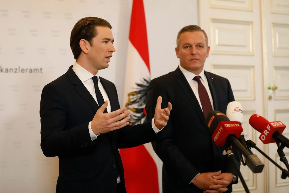 Press Conference: Chancellor Kurz and Defense Minister Kunasek<small>© Bundeskanzleramt (BKA) / Dragan Tatic</small>