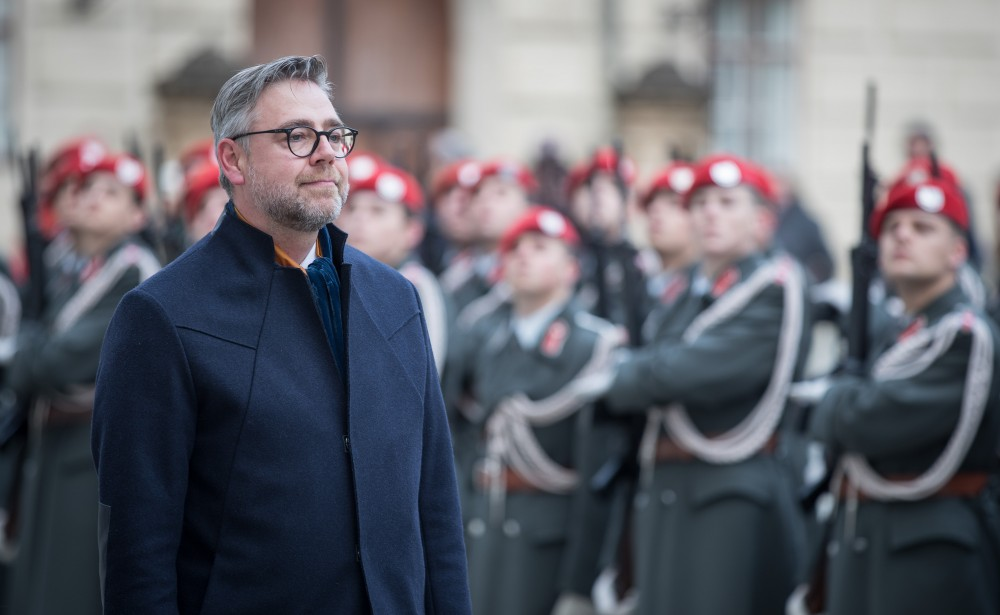 Ambassador of Lithuania to Austria: H.E. Mr. Donatas Kušlys<small>© www.bundespraesident.at / Carina Karlovits / Daniel Trippolt/HBF</small>