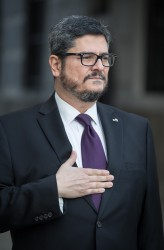 Ambassador of Guatemala: H.E. Mr. Roldán Barillas<small>&copy www.bundespraesident.at / Carina Karlovits / Daniel Trippolt/HBF</small>