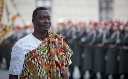 Ambassador of Ghana to Austria: H.E. Mr. Ramses Joseph Cleland<small>© www.bundespraesident.at / Carina Karlovits / Daniel Trippolt/HBF</small>