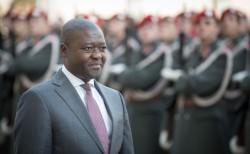 Ambassador of Lesotho: H.E. Mr.Retselisitsoe Calvin Masenyetse<small>© www.bundespraesident.at / Carina Karlovits / Daniel Trippolt/HBF</small>