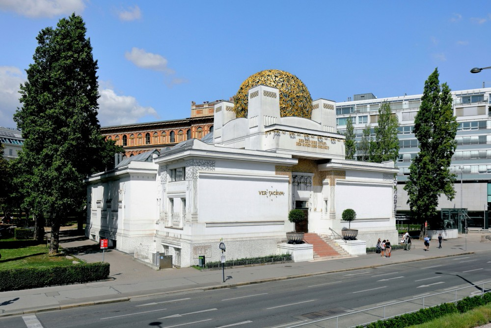 Vienna Secession Building<small>© Wikimedia Commons / Bwag [CC BY-SA 4.0)]</small>