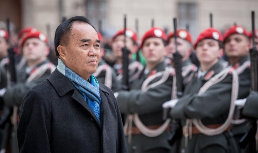Laotian Ambassador in Vienna: H.E. Mr. Sithong Chitnhothinh<small>© Carina Karlovits und Daniel Trippolt/HBF</small>