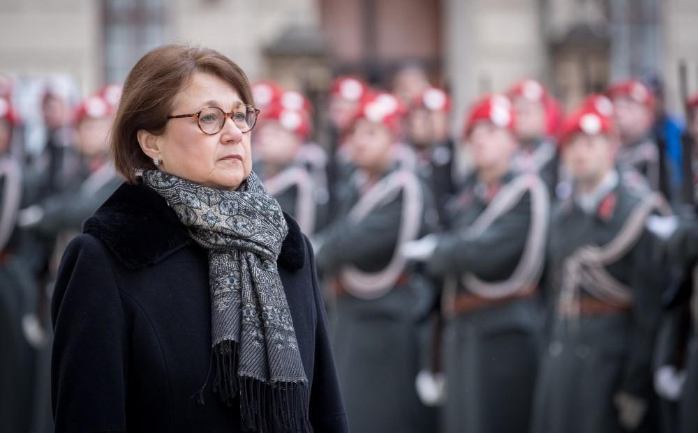 Ambassador of the Republic of Finland, Pirkko Mirjami Hämäläinen<small>© Carina Karlovits und Daniel Trippolt/HBF</small>