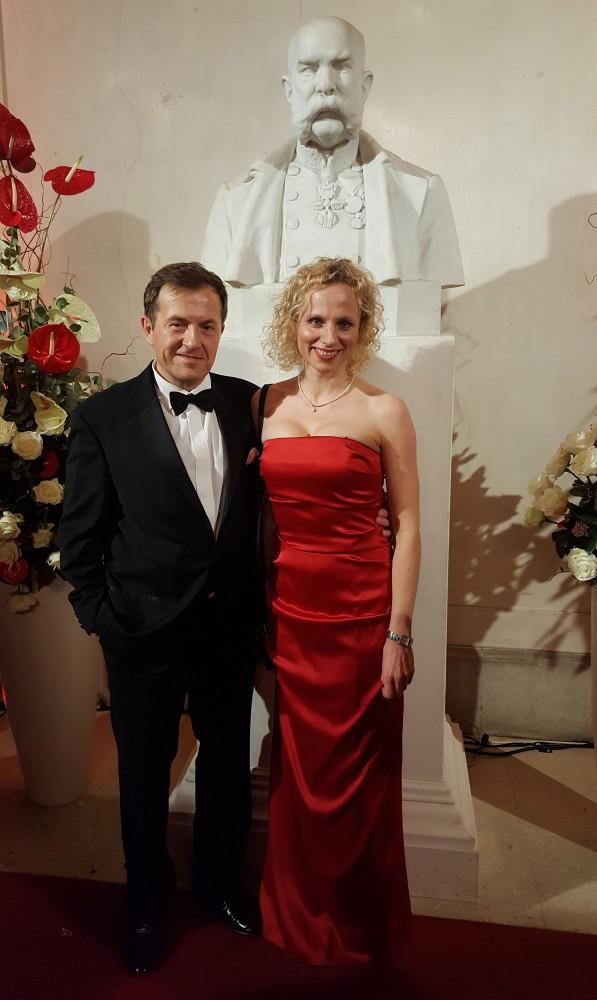 Birgit Adelsberger and Peter J. Friedl<small>© Vindobona.org</small>