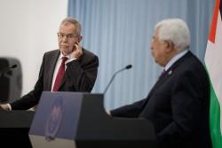 Mahmoud Abbas, Van der Bellen, Feb. 2019<small>&copy Österreichische Präsidentschaftskanzlei / Peter Lechner/HBF</small>