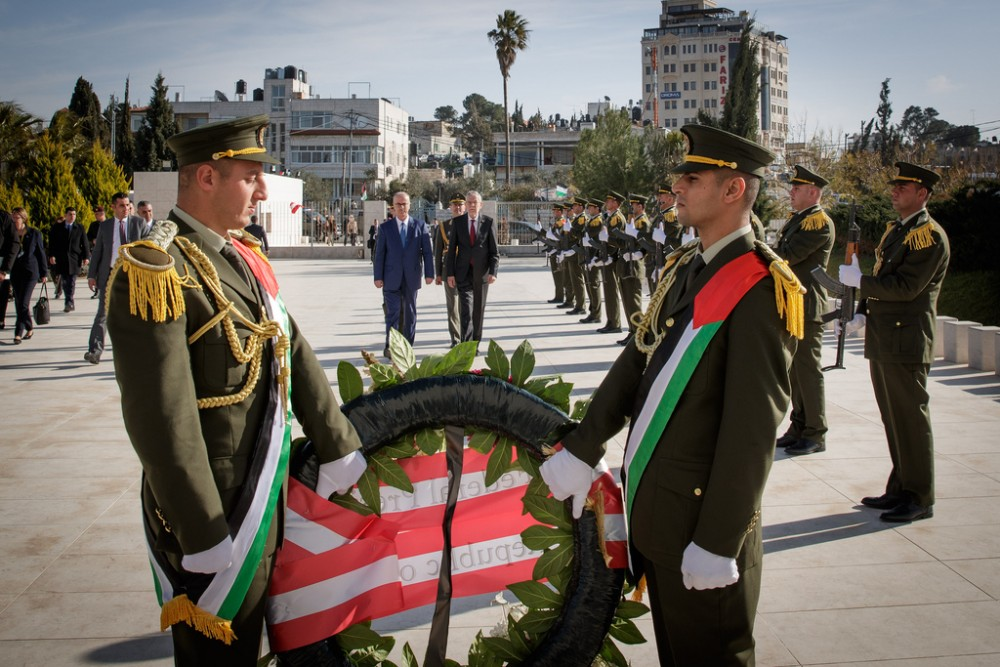 Mahmoud Abbas, Van der Bellen, Feb. 2019<small>© Österreichische Präsidentschaftskanzlei / Peter Lechner/HBF</small>
