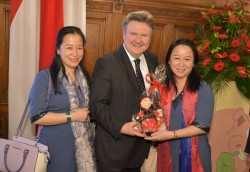 Chinese New Year celebration in Vienna with Mayor Ludwig<small>&copy Magistrat der Stadt Wien / C.Jobst/PID</small>