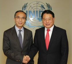 Li Xiaosi (left) and Li Yong (right)<small>&copy UNIDO / Flickr / (CC BY-ND 2.0)</small>