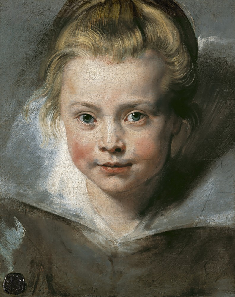Peter Paul Rubens, Portrait of Clara Serena Rubens, ca. 1616<small>© LIECHTENSTEIN. The Princely Collections, Vaduz–Vienna</small>
