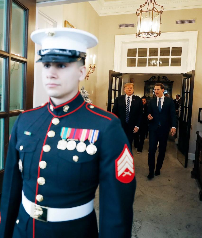 US President Donald Trump and Chancellor Kurz at the White House<small>© Bundeskanzleramt (BKA) / Dragan Tatic</small>