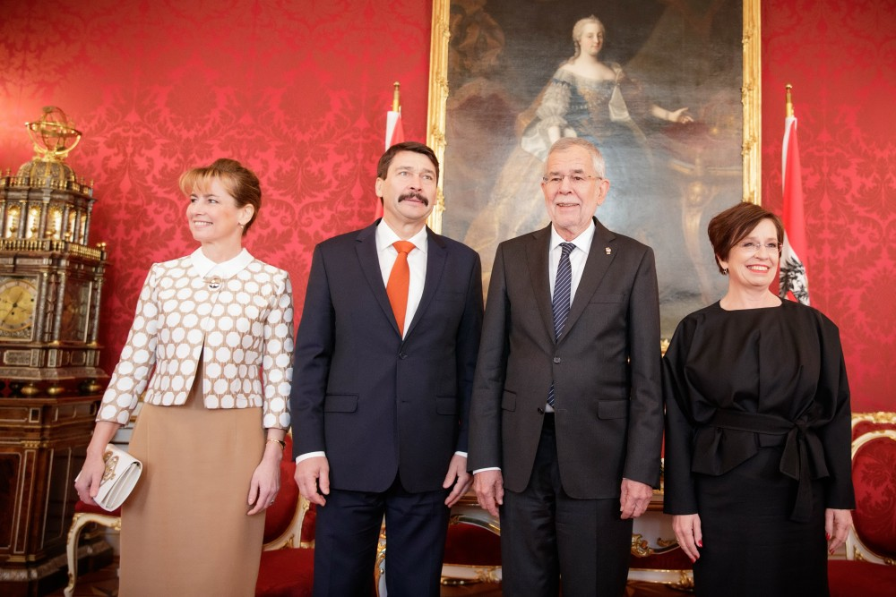 President János Áder paid an official visit to Austria.<small>© President János Áder paid an official visit to Austria.</small>