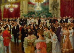 Viennese Ball at Vienna City Hall<small>&copy Wikimedia Commons / Wilhelm Gause [Public Domain]</small>