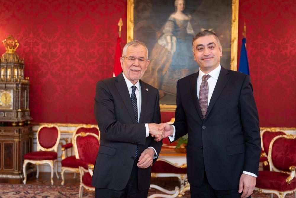 Ambassador of Armenia to Austria: H.E. Mr. Armen Papikyan<small>© bundespraesident.at / Carina Karlovits & Laura Heinschink/HBF</small>