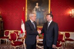Ambassador of North Macedonia to Austria: H.E. Mr. Nenad Kolev<small>© bundespraesident.at / Carina Karlovits & Laura Heinschink/HBF</small>
