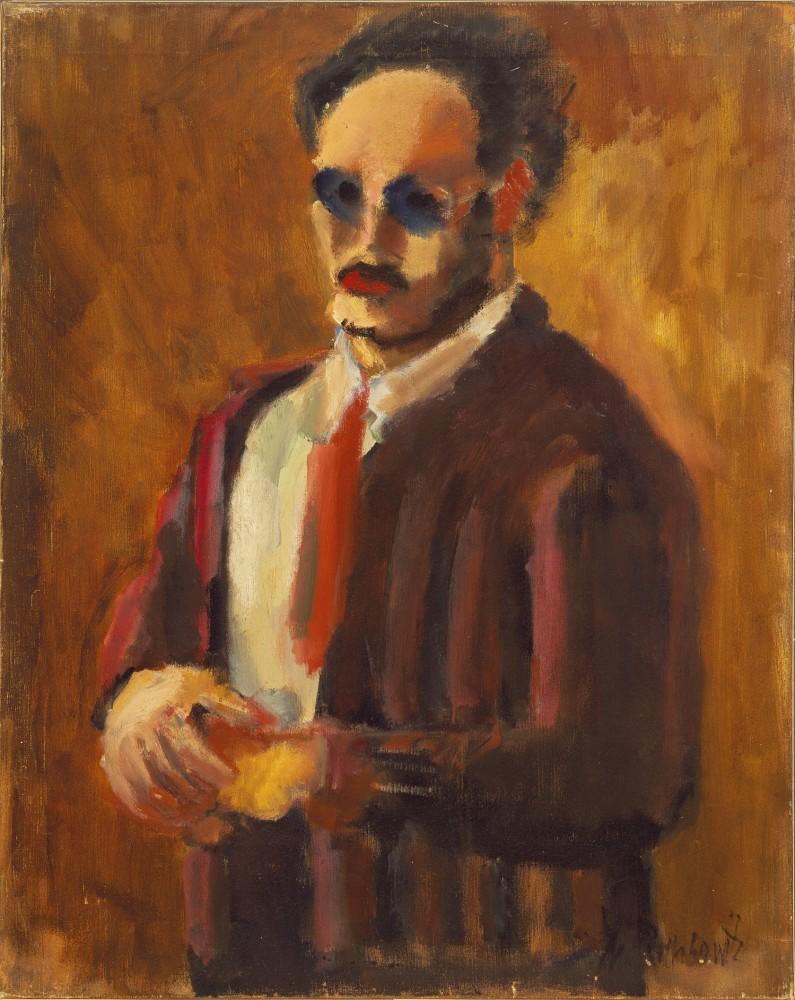 Mark Rothko (1903-1970) - Self-Portrait 1936<small>© 1998 Kate Rothko Prizel & Christ. Rothko/Bildrecht, Vienna, 2019</small>