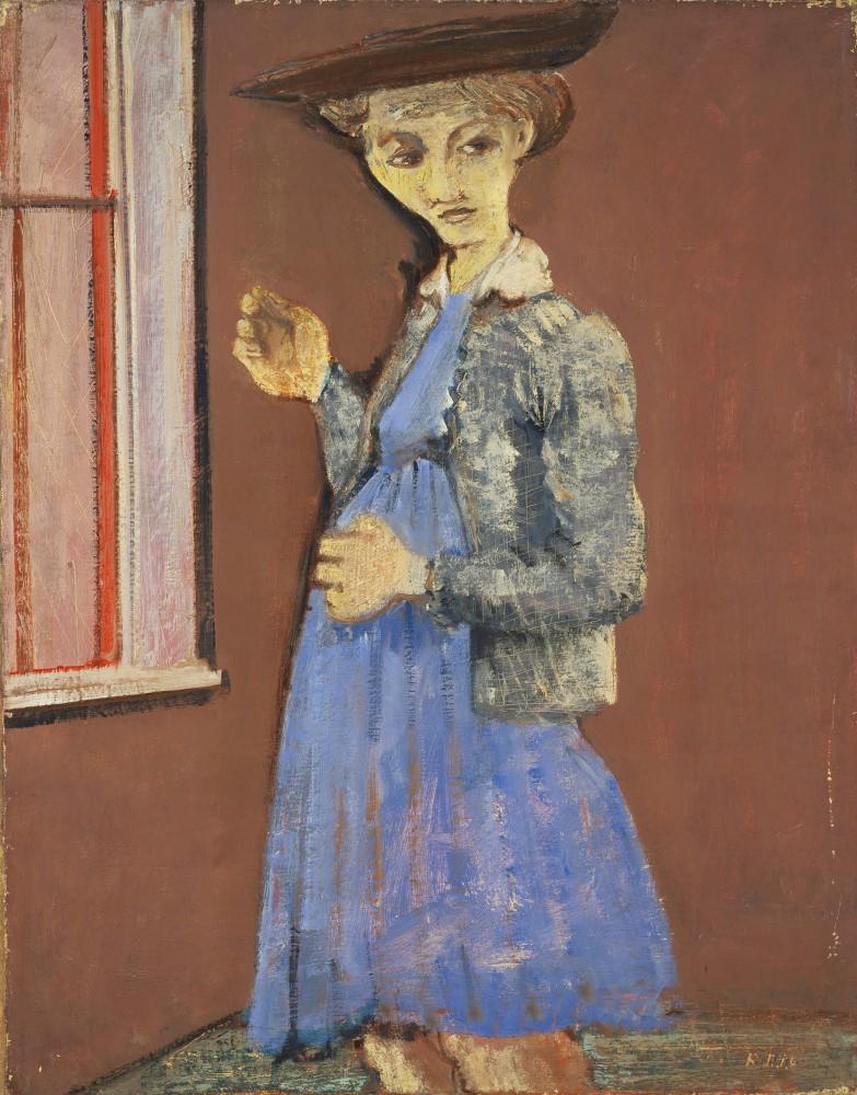 Mark Rothko (1903-1970) - Portrait of Mary 1938/39<small>© 1998 Kate Rothko Prizel & Christ. Rothko/Bildrecht, Vienna, 2019</small>