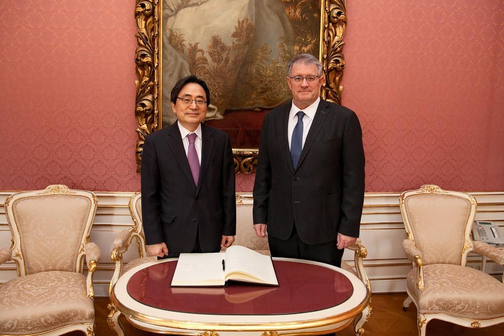 Ambassador of the Republic of Korea to visit IIASA<small>© IIASA / Markus Rauchenwald / Flickr (CC BY 2.0)</small>