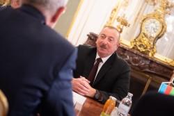 President of the Republic of Azerbaijan Ilham Aliyev<small>© Österreichische Präsidentschaftskanzlei / Carina Karlovits/HBF</small>