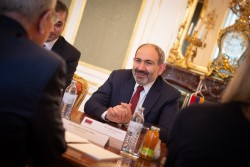 Prime Minister of the Republic of Armenia Nikol Pashinyan<small>© Österreichische Präsidentschaftskanzlei / Carina Karlovits/HBF</small>