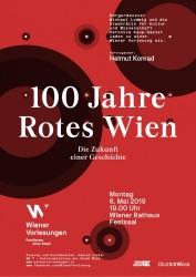 Wiener Vorlesungen - 100 Jahre Rotes Wien<small>© Stadt Wien / MA 7 – Kulturabteilung / Wiener Vorlesungen</small>