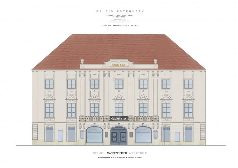 Palais Esterházy on Vienna's Kärntner Strasse after renovation<small>© Casinos Austria AG</small>