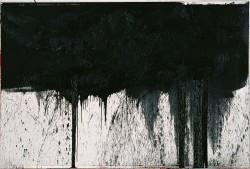Hermann Nitsch: Kreuzwegstation (aus dem Schwarzen Zyklus), 1991<small>&copy Albertina, Wien. Sammlung Essl © Bildrecht, Wien, 2019</small>
