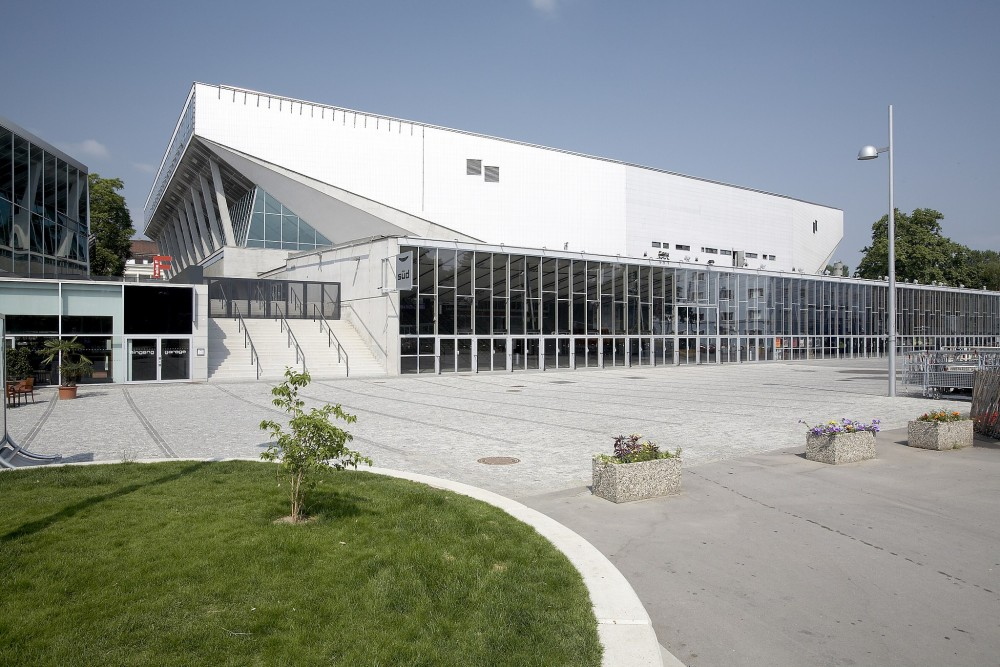 Wiener Stadthalle<small>© Wikimedia Commons / Bildagentur Zolles [CC BY-SA 3.0]</small>