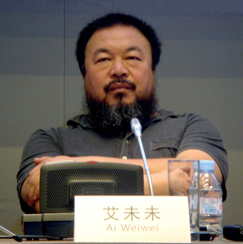Ai Weiwei<small>© Wikimedia Commons / Andy Miah [CC BY-SA 2.0]</small>