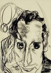EDMUND KALB, Selbstbildnis, 1930<small>© Privatbesitz: Sagmeister, Rudolf Sagmeister/Kunsthaus Bregenz</small>