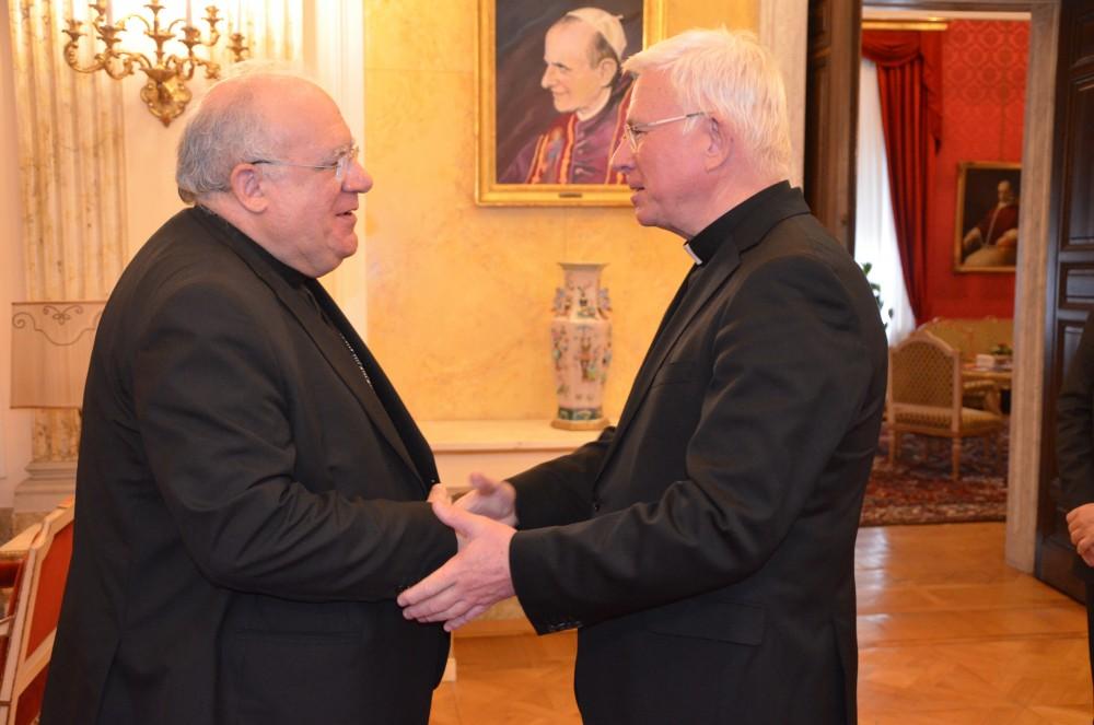 Archbishop Pedro Lopez Quintana, Apostolic Nuncio in Austria<small>© Paul Wuthe / Kathpress</small>