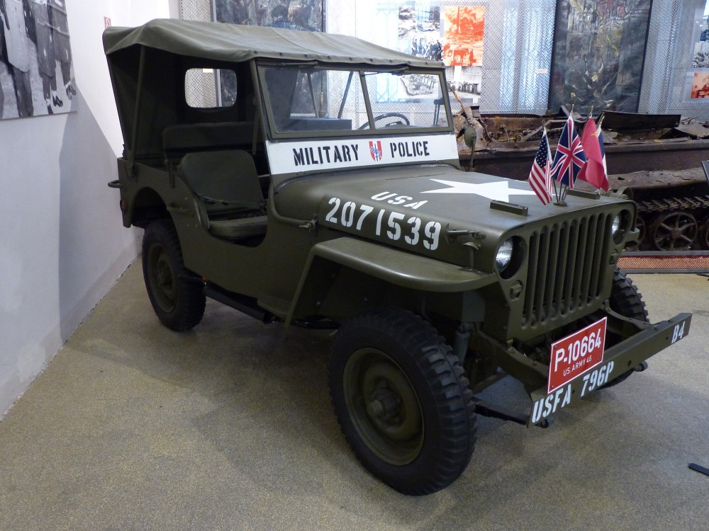 Jeep Willys MB of the Four Occupying Powers in Vienna<small>© Wikimedia Commons / Stefan97 [CC BY-SA 4.0]</small>