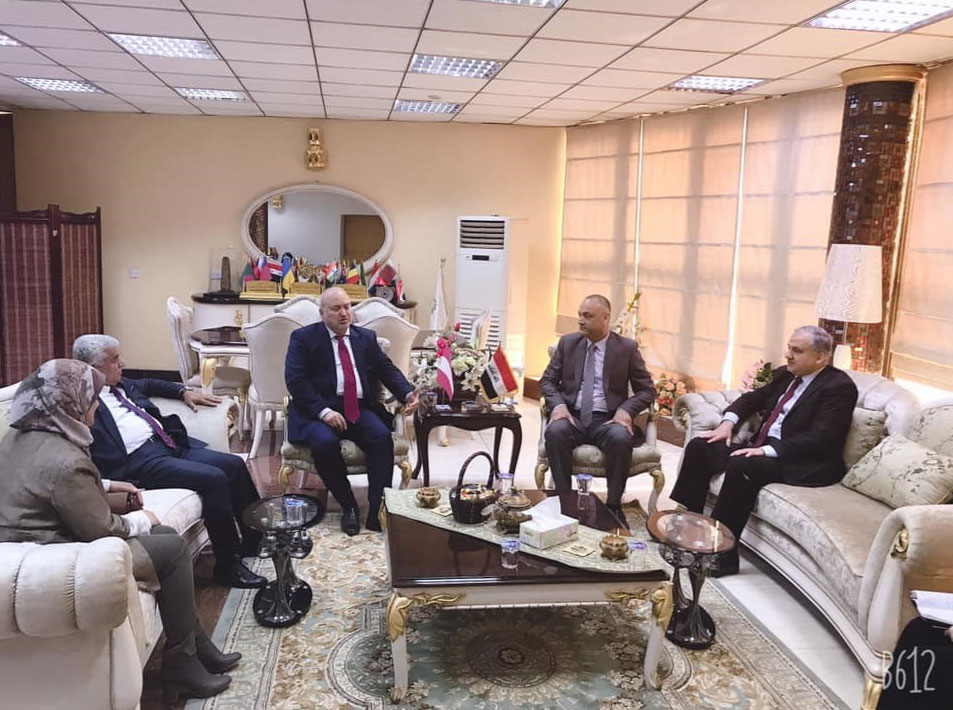AACC Meeting at the Federation of Iraqi Chamber of Commerce<small>© Austro-Arab Chamber of Commerce (AACC)</small>