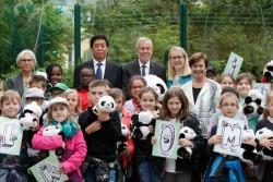 Handover of the panda bear Yuan-Yuan to the Schönbrunn Zoo<small>&copy Österreichische Präsidentschaftskanzlei / Peter Lechner/HBF</small>