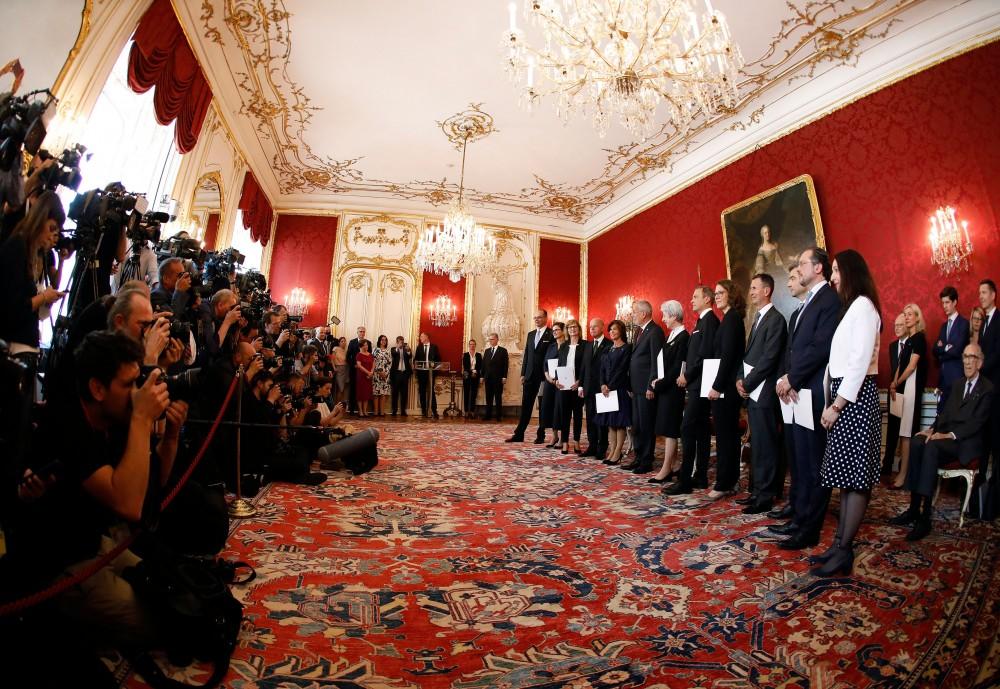 New Austrian Interim Government<small>© Bundeskanzleramt (BKA) / Dragan Tatic</small>
