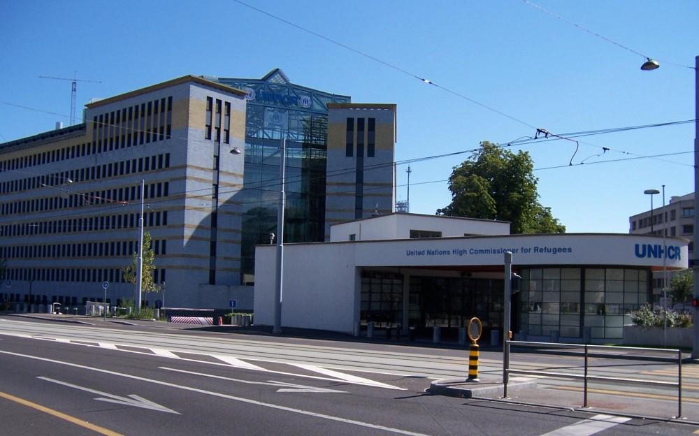 UNHCR Headquarters Geneva<small>© Wikimedia Commons / Attribution-Share Alike 3.0 Unported license</small>