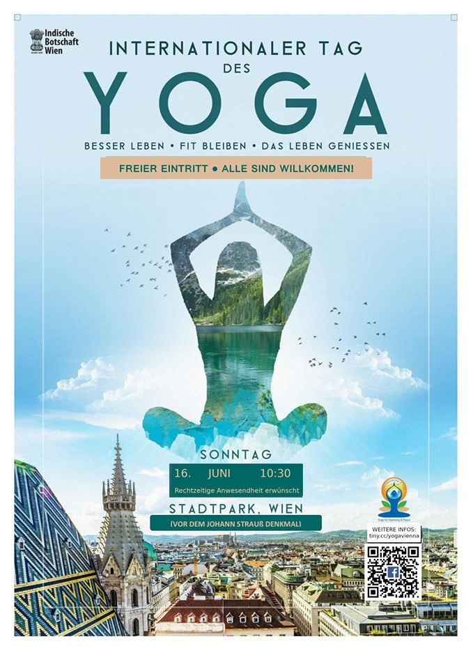 International Day of Yoga 2019<small>© Embassy of India in Vienna</small>