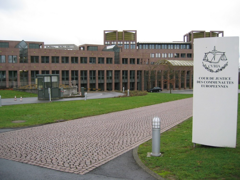 ECJ European Court of Justice in Luxembourg<small>© Wikimedia / Cédric Puisney from Brussels, Belgium [CC BY 2.0]</small>