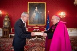 Ambassador of the Holy See, Pedro Lopez Quintana<small>© www.bundespraesident.at / Karlovits, Bauer und Heinschink / HBF</small>
