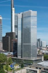 Eurotower Frankfurt, HQ of SSM Single Supervisory Mechanism<small>© Wikimedia Commons / Epizentrum [CC BY-SA 3.0]</small>