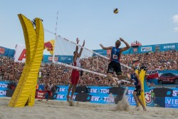 Beach Volleyball - Vienna Major 2019 on the Danube Island<small>© ACTS Sportveranstaltungen & Beach Majors GmbH / Joerg Mitter</small>