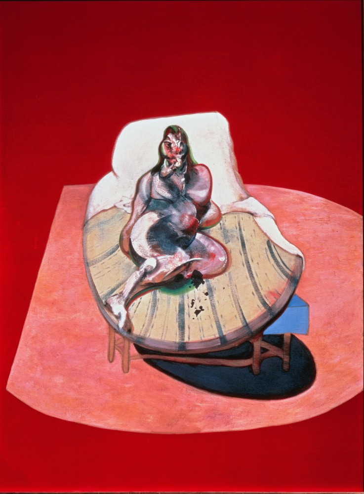 Francis Bacon, Study for Portrait of Henrietta Moraes, 1964<small>© The Heidi Horten Collection</small>