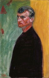 Edvard Munch, Self-Portrait 1904<small>© The Heidi Horten Collection</small>