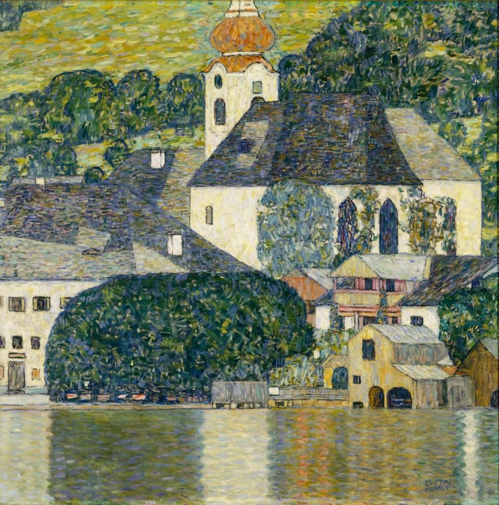 Gustav Klimt, Kirche in Unterach am Attersee, 1916<small>© The Heidi Horten Collection</small>