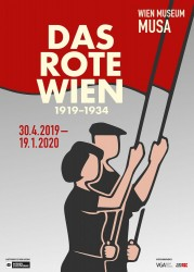 Exhibition Poster, Red Vienna<small>© Vienna Museum - Wien Museum</small>